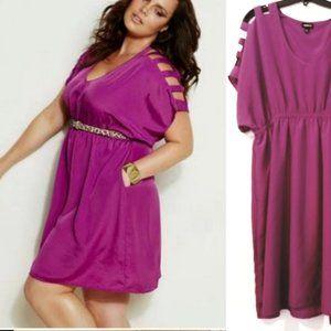 Torrid Size 2 Purple Dress